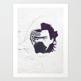Ben Solo Awakened Art Print