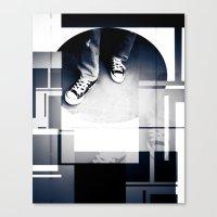 converse Canvas Prints featuring Converse by Roberto Cuevas