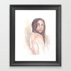 Skin in the Game Framed Art Print