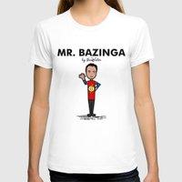 bazinga T-shirts featuring Mr Bazinga by NicoWriter