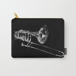Black Trombone Carry-All Pouch