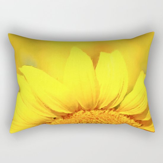 Sunflower love Flowers Flower Summer floral Rectangular Pillow