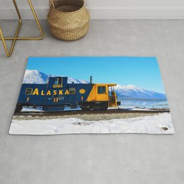 Caboose - Alaska Train Rug