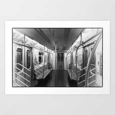 End of the Line Art Print