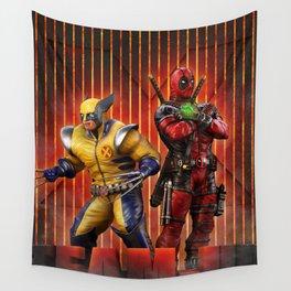Superheros Wall Tapestry