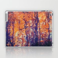 Autumn Woods Painterly Abstract Water Color FX Laptop & iPad Skin