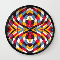 stained glass Wall Clocks featuring Stained Glass by Danny Ivan