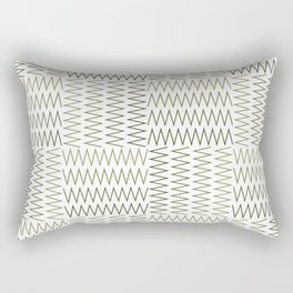 ZigZag (Absolute/Corner) Pattern Rectangular Pillow