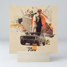 The City 1968 Mini Art Print