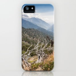 Inspiration Point along Pacific Crest Trail iPhone Case