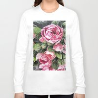 botanical Long Sleeve T-shirts featuring Botanical Beauty by lillianhibiscus