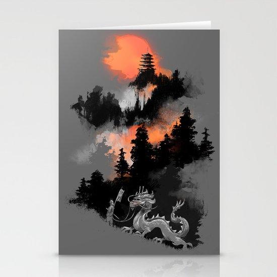 A samurai's life Stationery Cards