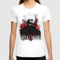 tokyo ghoul T-shirts featuring Kaneki - Tokyo Ghoul by 666HUGHES