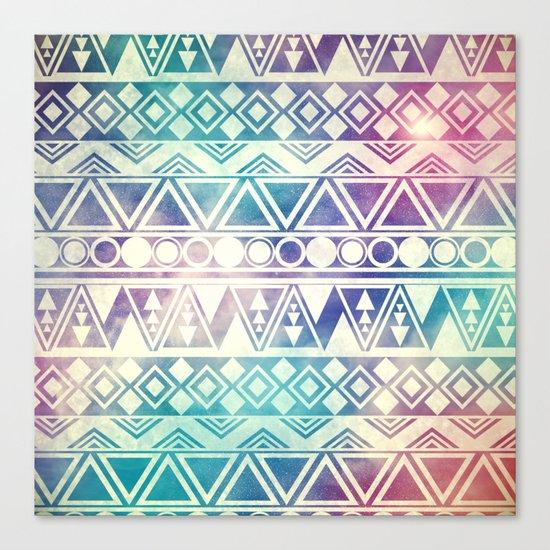 Tribal Orbit Canvas Print