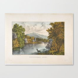 Moosehead Lake, Maine , Currier & Ives (American, active New York, 1857–1907) Canvas Print