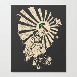 Legends of Old Canvas Print