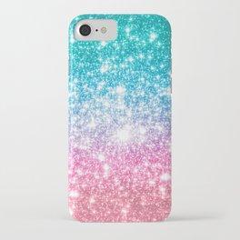 Mermaid Galaxy Sparkle Stars iPhone Case