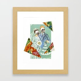 A marriage made in retail... Framed Art Print