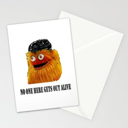 Gritty Mascot Stationery Cards