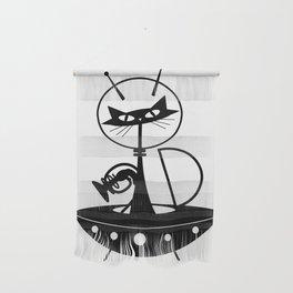Spaceship Cat Wall Hanging