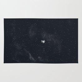Gravity - Dark Blue Rug