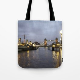 Belfast & Bridge Tote Bag