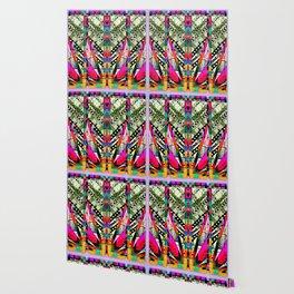 fire pattern Wallpaper
