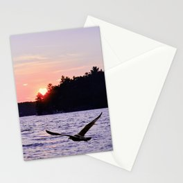 Fly into the Sunset Stationery Cards