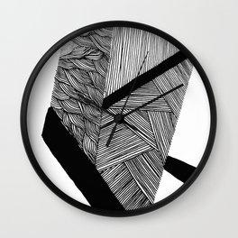 Flat Wall Clock