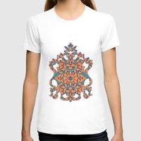 climbing T-shirts featuring Climbing Waltz by GEETIKAGULIA