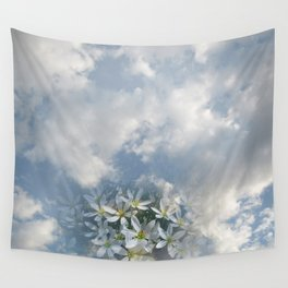 Window Curtains - Morning Fresh Wall Tapestry