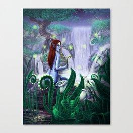 The Golden Harp Canvas Print