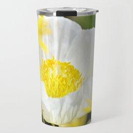 White Beauty Travel Mug