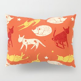 Cats and stars Pillow Sham
