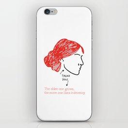 History's Women: Virgina Woolf iPhone Skin