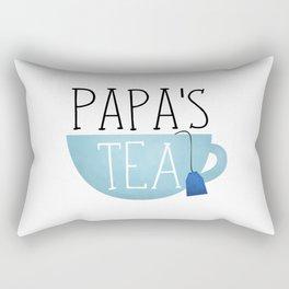 Papa's Tea Rectangular Pillow
