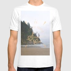 The Smuggler's Cove Mens Fitted Tee MEDIUM White