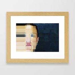 Pixel Push Series: Bridget 1 Framed Art Print
