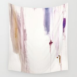 Sugar and Spice [2]: a minimal, pretty abstract piece in pinks, purple, mauve, and tan Wall Tapestry