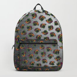 Boxer in Fawn - Day of the Dead Sugar Skull Dog Backpack