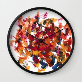 Up High Abstract Wall Clock