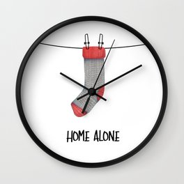 Home Alone! Wall Clock