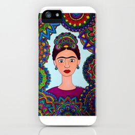 Friducha iPhone Case