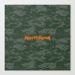 Northland Camo Canvas Print
