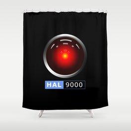 HAL 9000 Shower Curtain