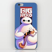 big hero 6 iPhone & iPod Skins featuring Baymax - Big Hero 6 by J Skipper