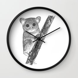 Tarsiers Wall Clock