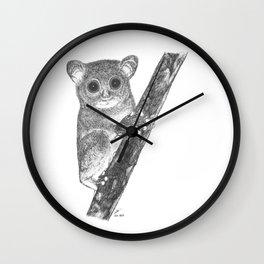 Tarsiers Wall Clock