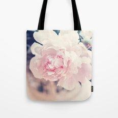 Beautiful Peony Flower Art Tote Bag