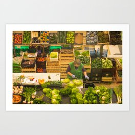 Alimentation Art Print